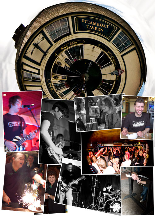 Live music in Ipswich - The Steamboat Tavern